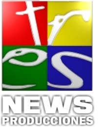 logo tres news tv